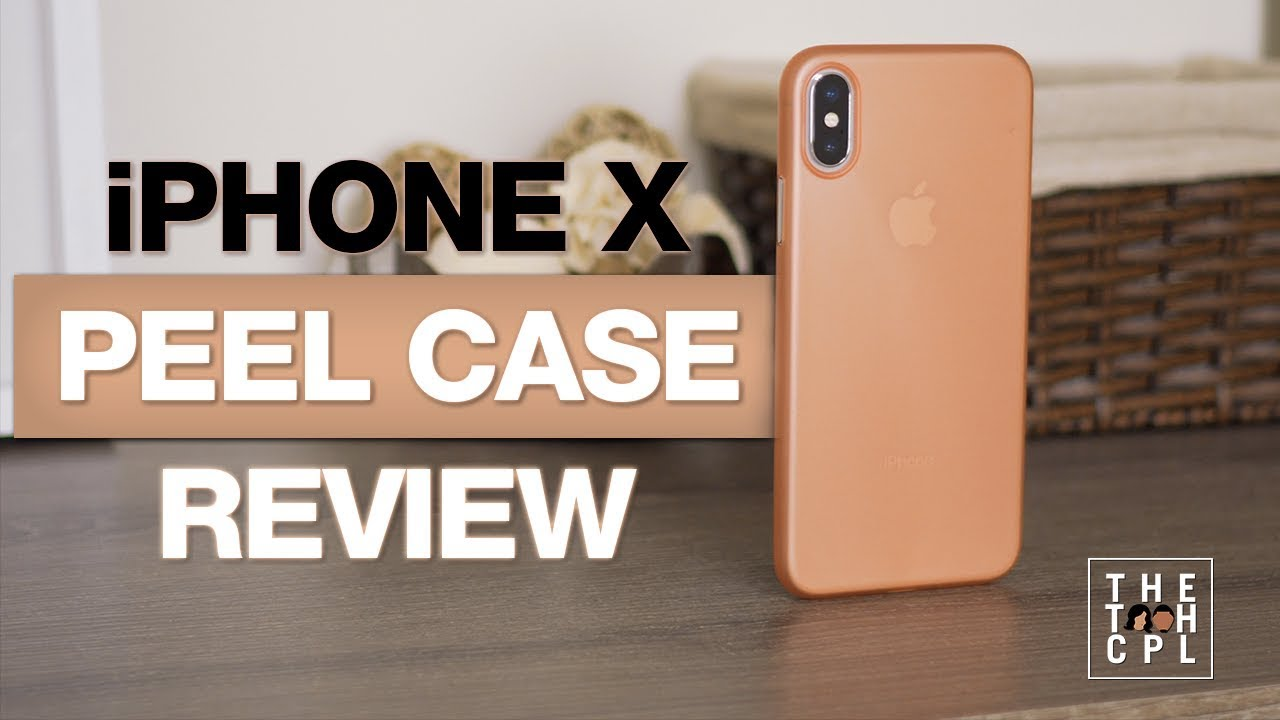 huge selection of 680e2 c8e96 iPhone X Peel Super Thin Case Unboxing & Review 4K