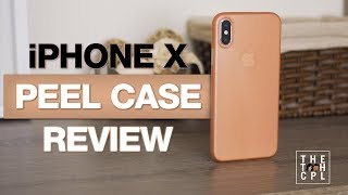 iPhone X Peel Super Thin Case Unboxing & Review 4K