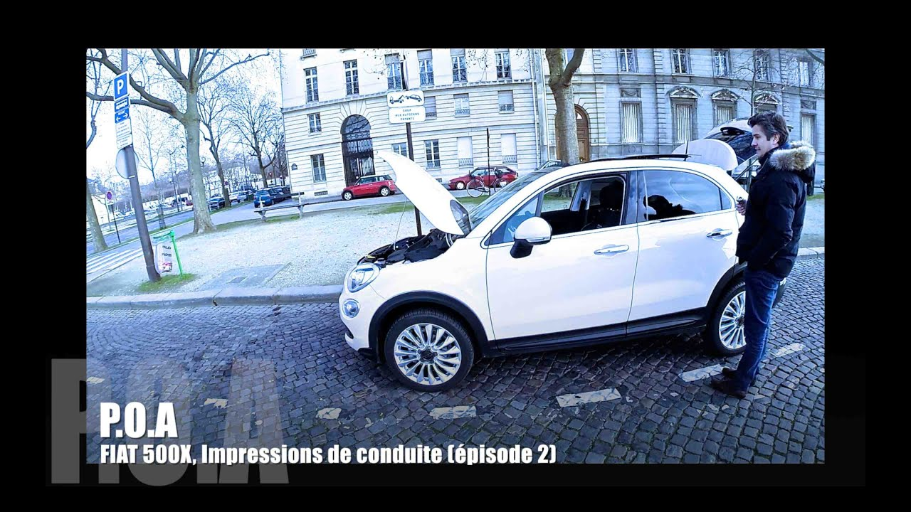 nouvelle fiat 500x 2015 impressions de conduite essai 2 2 youtube. Black Bedroom Furniture Sets. Home Design Ideas
