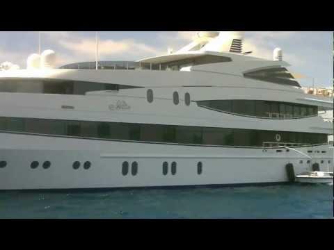 Yachts in Saint Tropez Bay