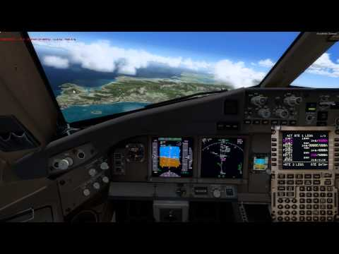 P3D Kona to Honolulu PMDG 777F Full Flight