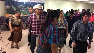 Jacaltenango-Interpretancion de la (Marimba Suspiro Qanjobal) Baile por Grupo Valle del Ensueño 2016