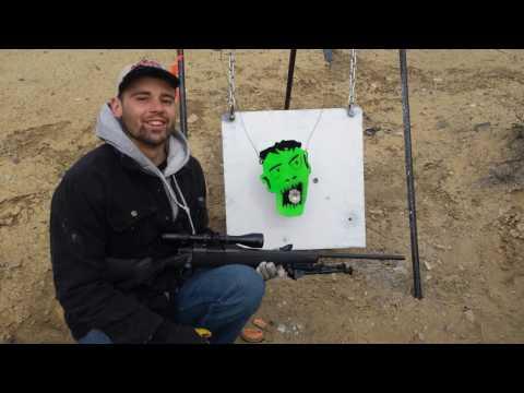 1000 Yard 7mm- 08 Zombie Kill