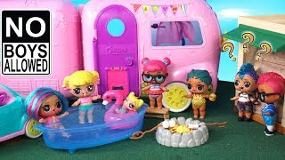 LOL Doll New ClubHouse For Girls - Baby Goldie vs Punk Boi Video
