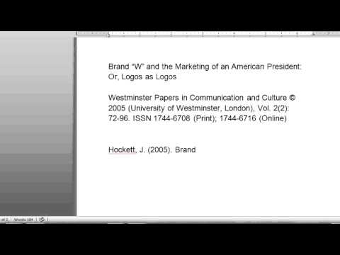 apa style journal articles