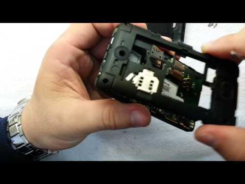 Desmontagem Nokia Asha 501