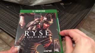 Ryse: Son of Rome Day One Edition Unboxing (With Girlfriend) 1080p HD