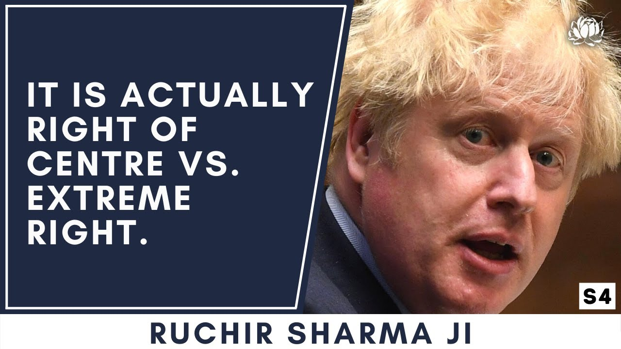 There is no 'left of centre' in Britain or America   Ruchir Sharma ji on the political spectrum