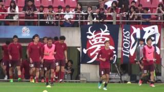 ACL2017R162ndReg 鹿島 2-1 広州 試合前の挨拶