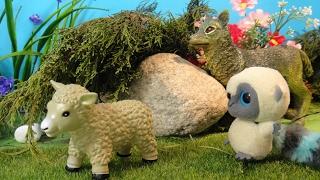 ОВЕЧКА И ВОЛК. Овечка спасена!!! Мультфильмы про животных для детей