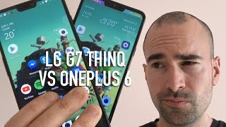 LG G7 vs OnePlus 6 | Side-by-side comparison