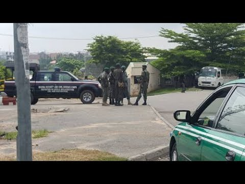 Police Take Over NHIS Building In Abuja Over Plan By Suspended Executive Secretary