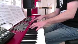 Beethoven - Moonlight Sonata [piano + synth]