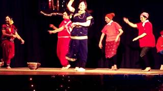 Diwali show 11 11 2013 Theme Bombay Koli dance 03