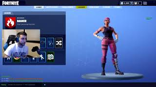 Fortnite: Hacker joins my lobby gives himself Unreleased Skins