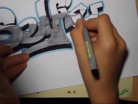 Graffiti Malen Für Anfänger Youtube
