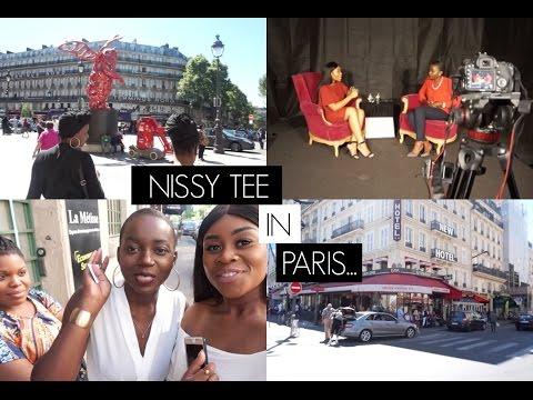 #VLOG: NISSY TEE IN PARIS - 'WF CHANNEL' | TIMEFORTEE