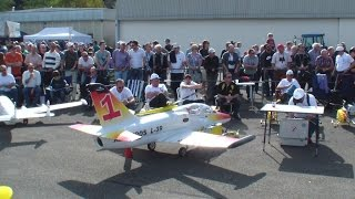 Giant L-39 Albatros turbine Model Jet Hausen biggest R/C Air Show in Europe
