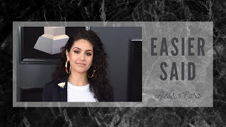 Alessia Cara - Easier Said (Acapella - Vocals Only)
