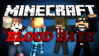 Minecraft Blood Bath Garden Minigame w/ BajanCanadian, MinecraftUniverse and SSundee