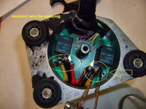 City servo Fiat easy repair manual / relay V23072 A308 / relay 4117
