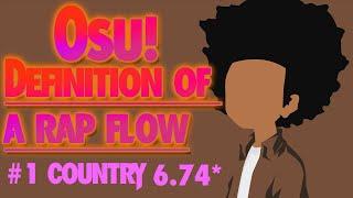 Osu! A-F-R-O - Definition of a rap flow 6.74 stars | Hidden | #1 country