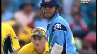 Virender Sehwag great batting In World Cup 2003 Final VS Australia