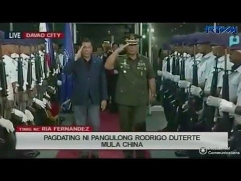 El presidente de Filipinas aclaró que no está cortando los lazos con EE.UU.