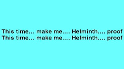 """Helminth Proof (from """"Bulletproof"""" by LaRoux) with LYRICS"""