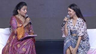 Anchor Suma Hilarious Interview With Lavanya Tripathi @ Arjun Suravaram Pre Release Event