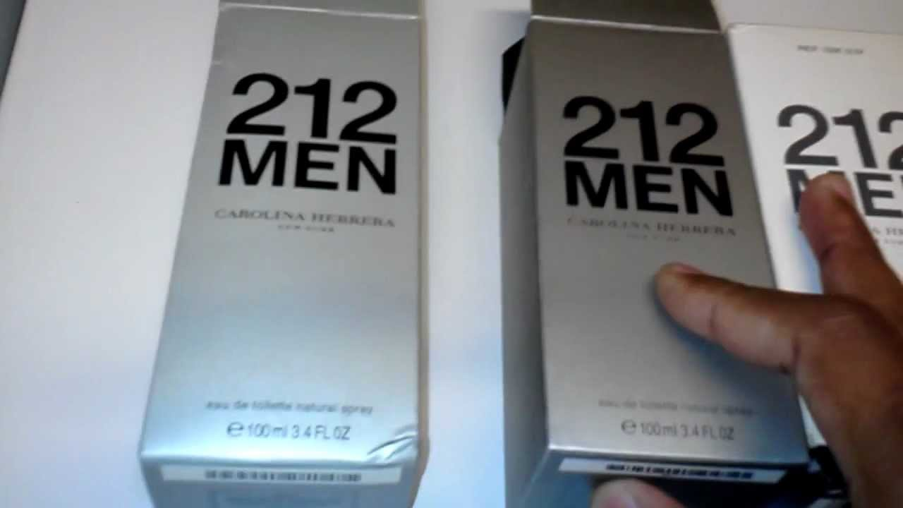 Real 212 men Vs Fake 212 men - YouTube