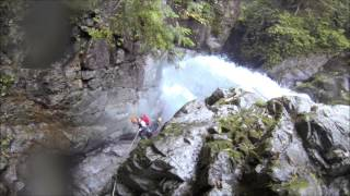 0911 kamitakara  CANYONING JAPAN   J-WET Adventures