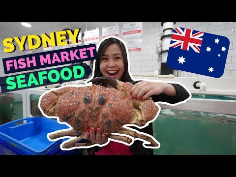 SYDNEY FISH MARKET - Cheap & FRESH SEAFOOD In SYDNEY