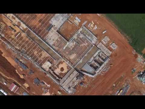 Progress of Novare Gateway mall, Abuja Nigeria – October 2016