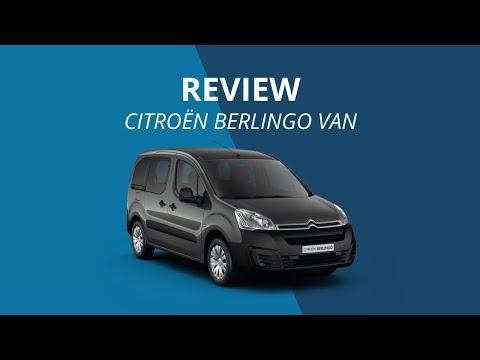 Citroën Berlingo Van 2015 Review