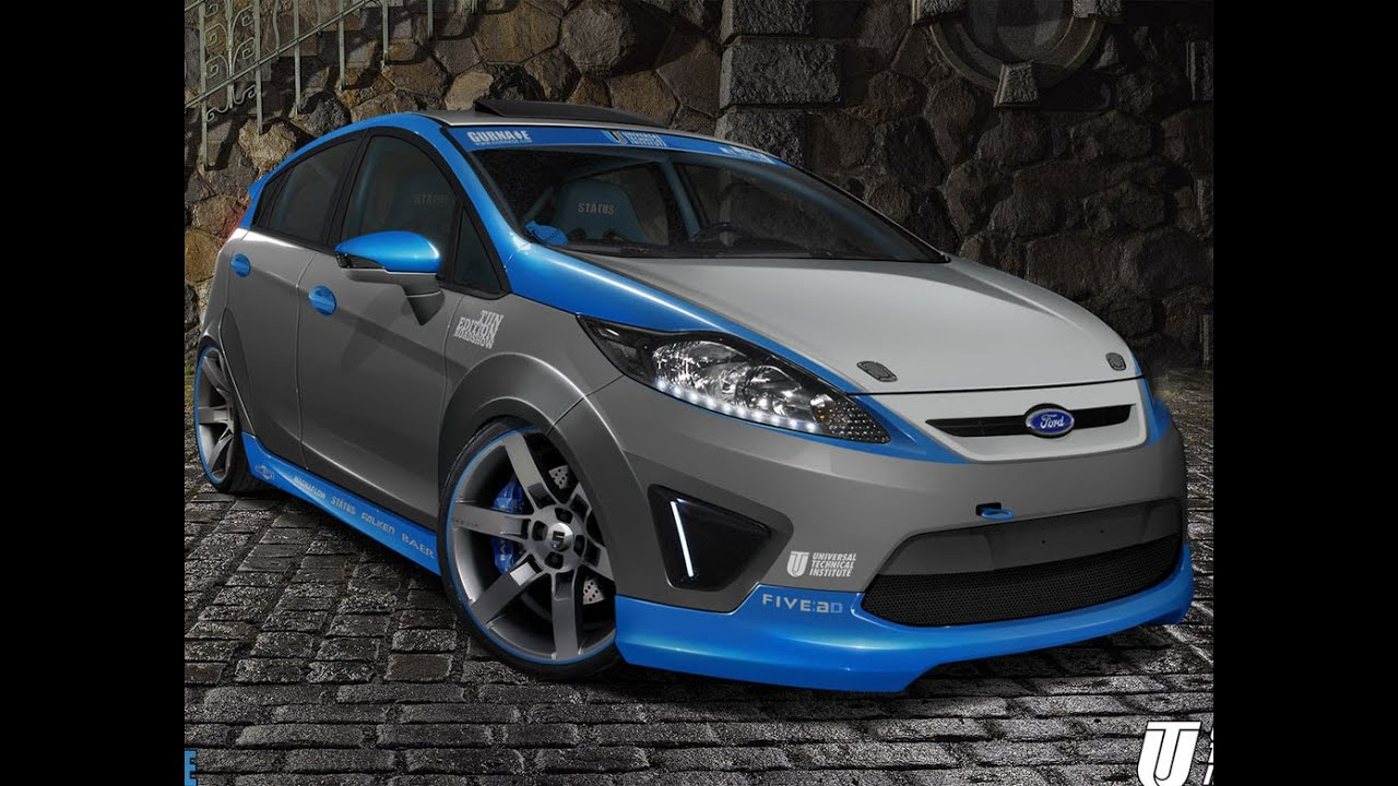 Pimped Out Cars Wallpapers Ford Fiesta Youtube