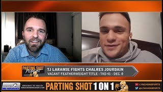 TKO 41's TJ Laramie talks Charles Jourdan matchup and training with UFC vet Daron Cruickshank