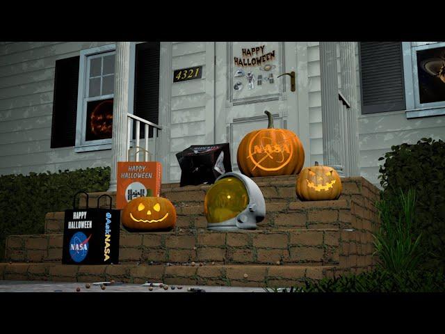 Happy Halloween from NASA