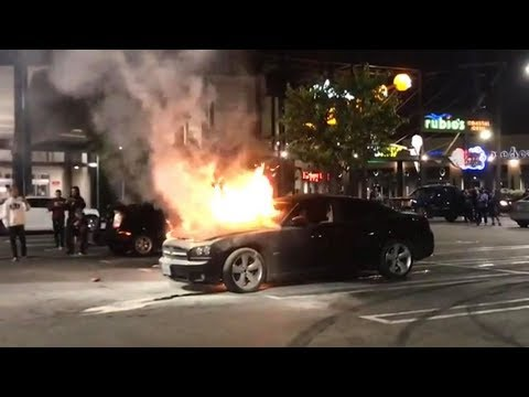 Car Meet Gone Wrong!! We Were SHOT AT/Car BLEW UP