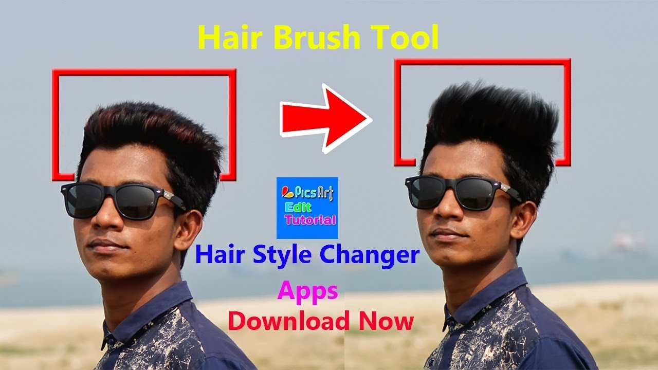 How To Use Hair Brush Tool Make Awesome Hairstyles Step By Step