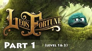 Leo's Fortune - PC Gameplay HD - Part 1 (level 1 & 2)