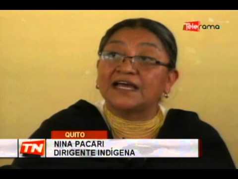 Organizaciones indígenas ratifican el ejercicio de la justicia índigena