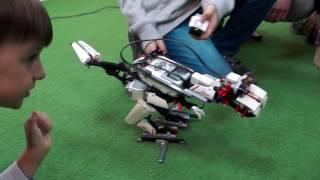Динозавр Лего EV3