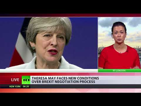 May faces new conditions over Brexit negotiation process