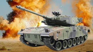 Іграшки на АлиЭкспресс - РАДІОКЕРОВАНИЙ ТАНК, точна копія 1:20 ізраїльського танка ''Merkava''