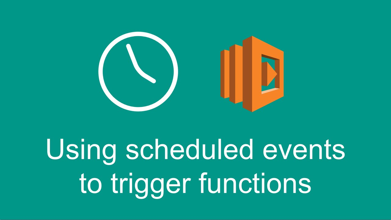 Using scheduled events to trigger Lambda functions (Getting started with  AWS Lambda, part 6)