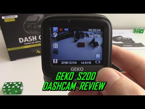 GEKO S200 Starlit Night Vision Dash Cam Review