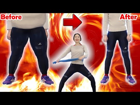 超下半身痩せするダンスで脂肪燃焼!【地獄の16分】マンションOK飛ばない有酸素運動で初心者でもダイエットできる