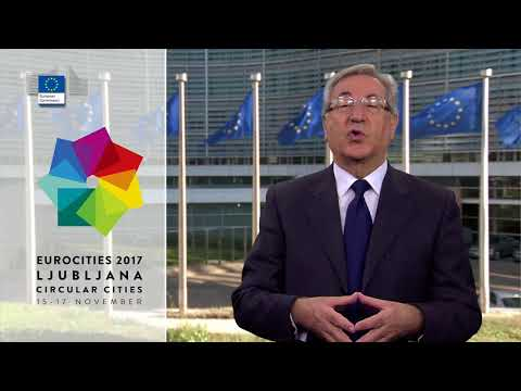 Karmenu Vella, video message at EUROCITIES 2017 conference