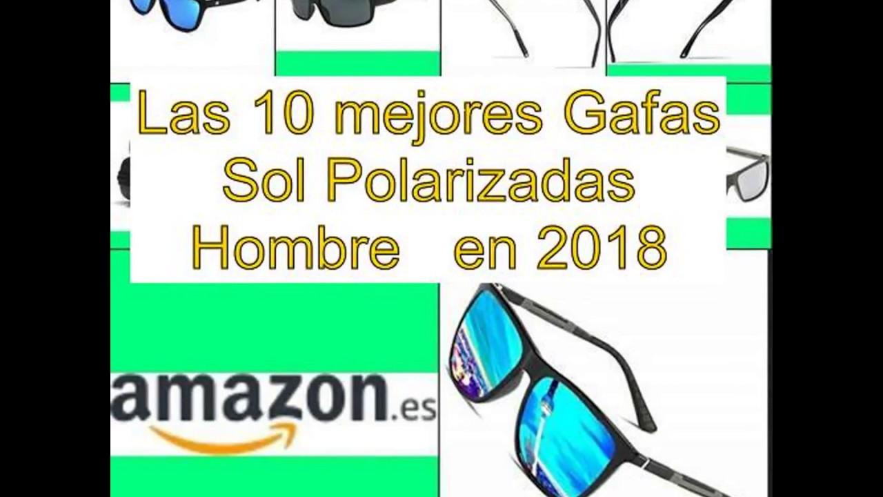 1d270a7841 Las 10 mejores Gafas Sol Polarizadas Hombre en 2018 - YouTube